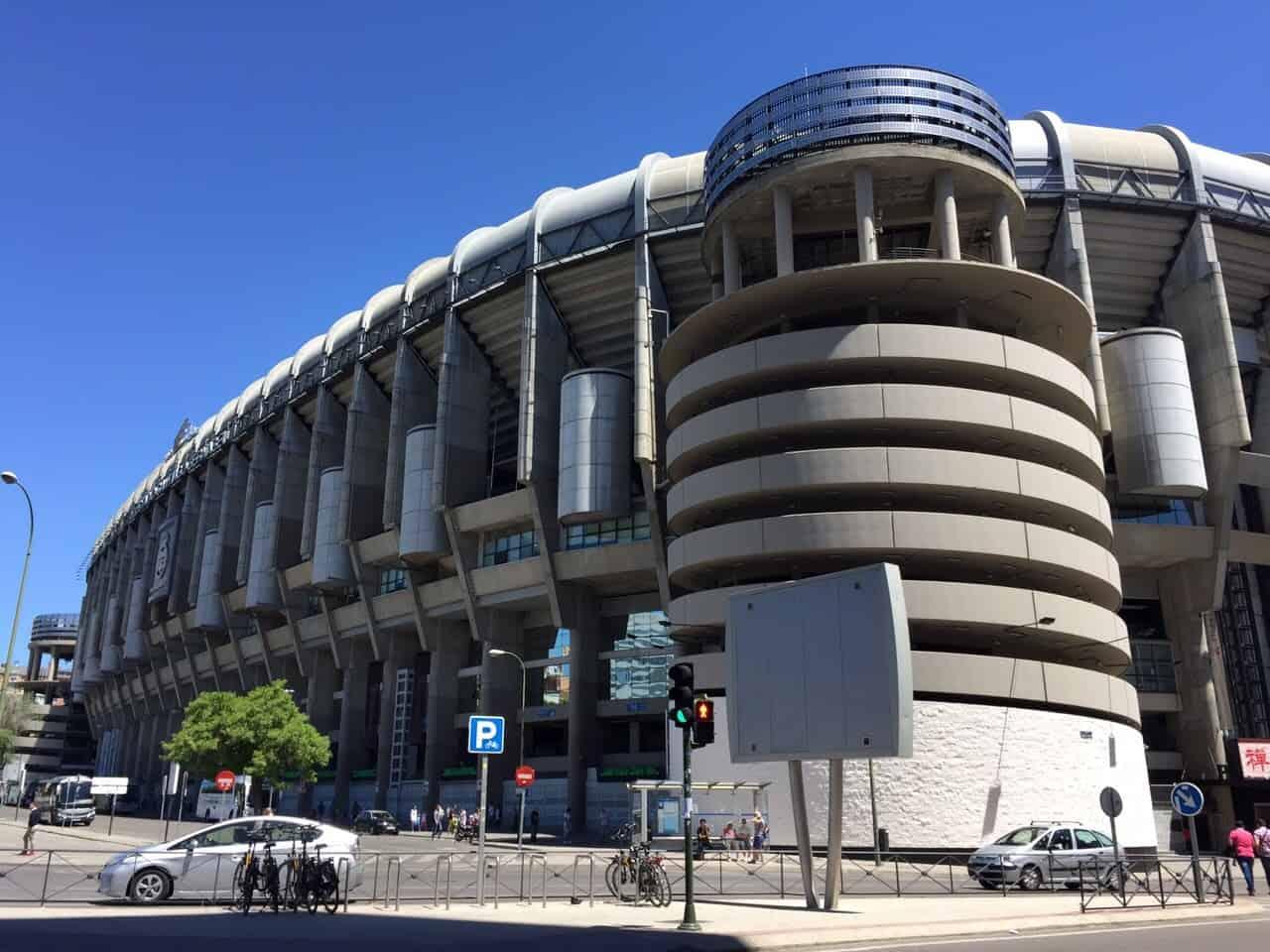 Vista Bernabéu