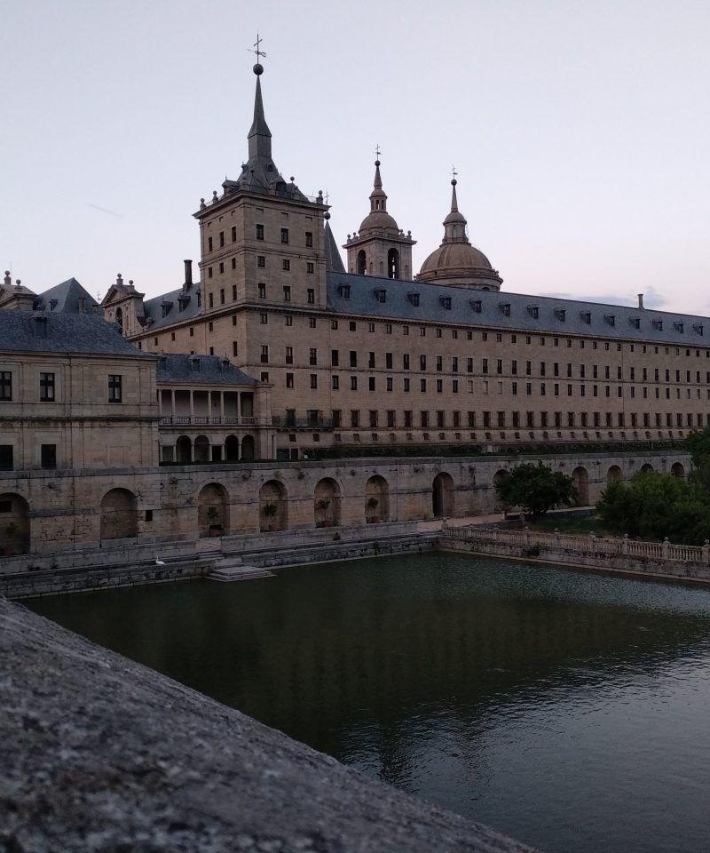 Vista del Monasterio de El Escorial