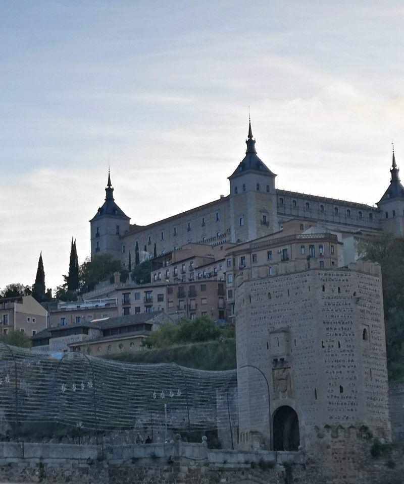 Vista Norte Alcázar de Toledo