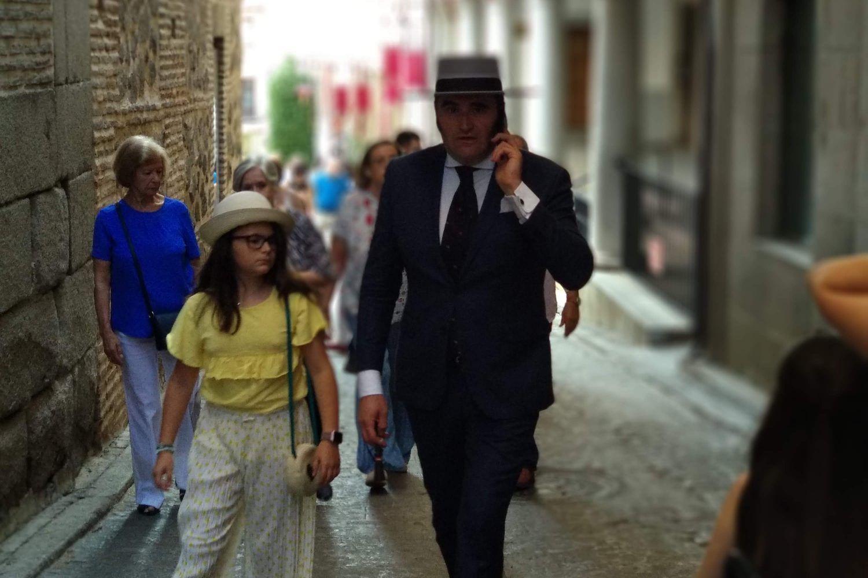 Caminante ropa típica Toledo