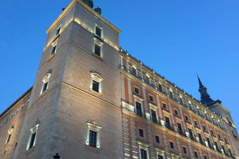 Esquina del Alcázar de Toledo